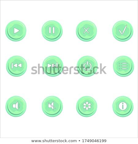 輝かしい ボタン タグ セット ベクトル スポーツ ストックフォト © burakowski