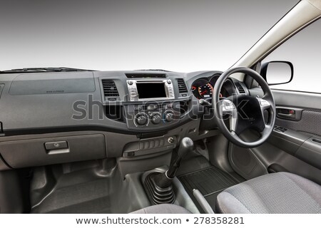 Car interior with wiper switch Stock photo © vladacanon