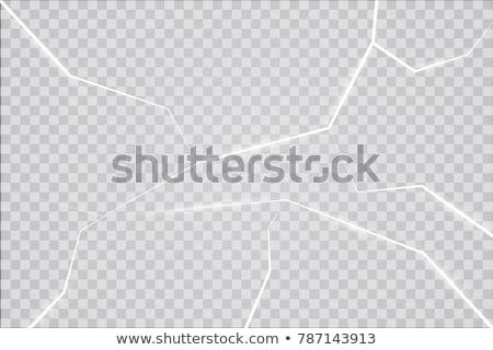 Törés jég víz emelkedő borító körül Stock fotó © Mps197