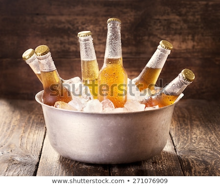 льда · холодно · пива · тесные - Сток-фото © tab62