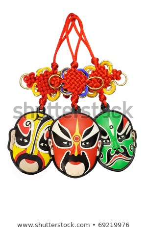 Chinese new year traditional opera mask ornament  Stock photo © dezign56