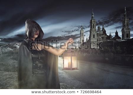 asian witch stock photo © elwynn
