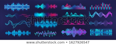 Wave form pattern Stock photo © hfng
