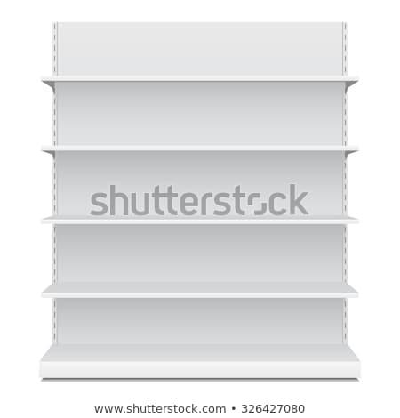Empty shelves for presentation Stock photo © netkov1