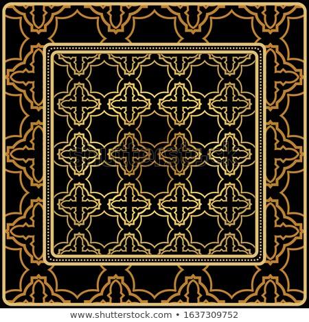Rosso diagonale conchiglie geometrica 3D Foto d'archivio © Zebra-Finch