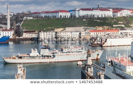 Orosz ki tenger fegyver csónak hajó Stock fotó © vapi