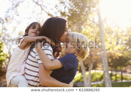 they play mother with the son Stock photo © Paha_L