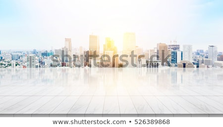 A view of the bright city Stock photo © bluering