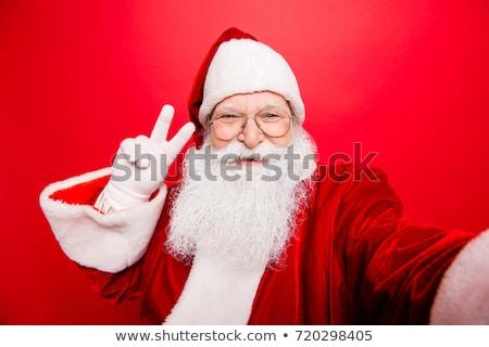 Дед · Мороз · сообщение · совета · изолированный · знак · весело - Сток-фото © genestro