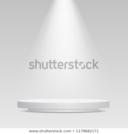White round podium Stock photo © Oakozhan
