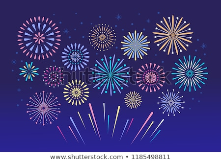 Fireworks cluster Stock photo © szefei