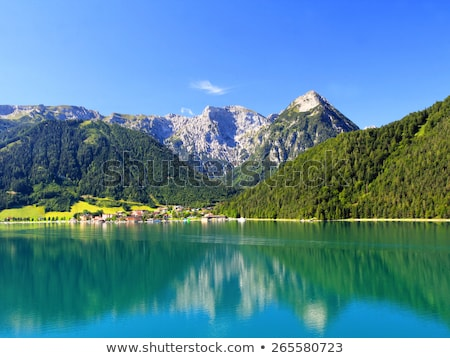 Achensee Lake in Tirol, Austria, Central Europe Stock photo © CaptureLight