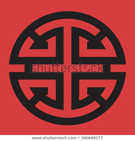 Chinese Lu Symbol in Pop Art Style Vector Icon Stock photo © doddis
