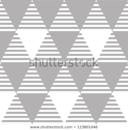 Diamant papier d'emballage mode style blanc noir Photo stock © ESSL