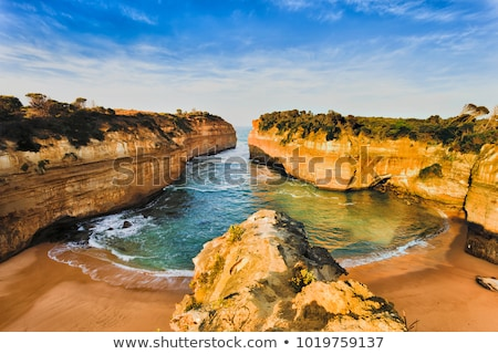 nagyszerű · óceán · út · Ausztrália · tizenkettő · tenger - stock fotó © dirkr