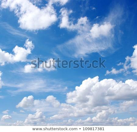 Biçim bulut mavi gökyüzü iş telefon Internet Stok fotoğraf © rufous