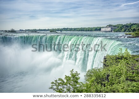The amazing power of Niagara Falls from the Canadian side stock photo © chrisukphoto