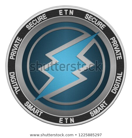 electroneum   cryptocurrency colored logo stock photo © tashatuvango