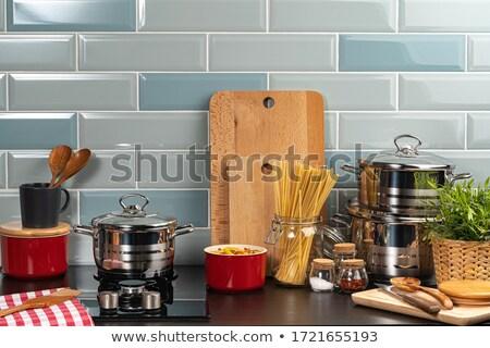 Orelhas trigo contrariar padaria compras Foto stock © wavebreak_media