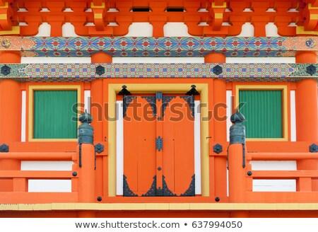 świątyni szczegół kyoto Japonia wejście budynku Zdjęcia stock © daboost