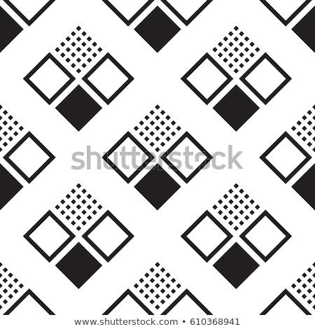 şık model dizayn diyagonal kare Stok fotoğraf © SArts