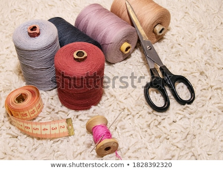 spool of pink thread and meter  Stock photo © OleksandrO