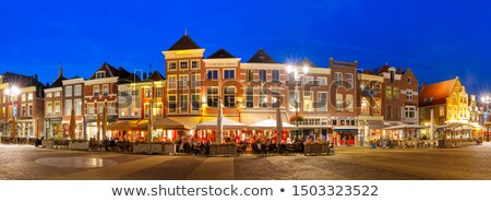 Голландии · мнение · архитектура · небе · воды · облака - Сток-фото © benkrut