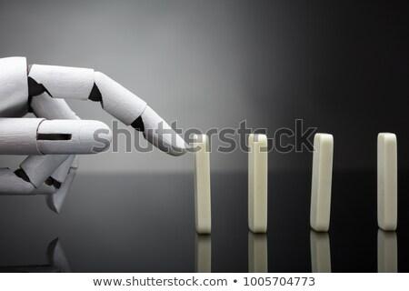 リスク 人工知能 怒っ サイボーグ 将来 技術 ストックフォト © Lightsource