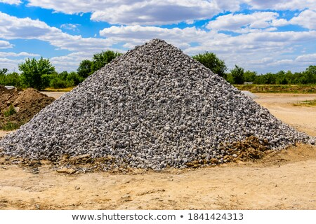 Grand ciel sable pierre industrielle Photo stock © FOKA