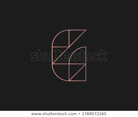 g geometric logo vector icon element Stock photo © blaskorizov