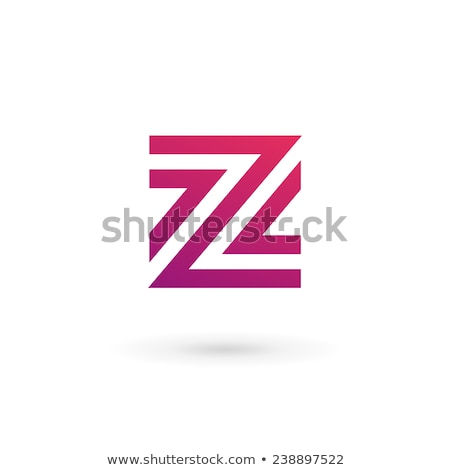 number 2 or letter z icon vector symbol design element Stock photo © blaskorizov