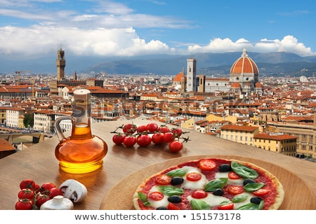 Foto stock: Florence · Itália · ver · cidade · arte · pedra