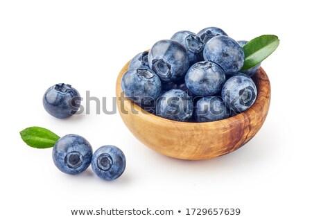 Bowl Of Wild Blackberries Stock photo © THP