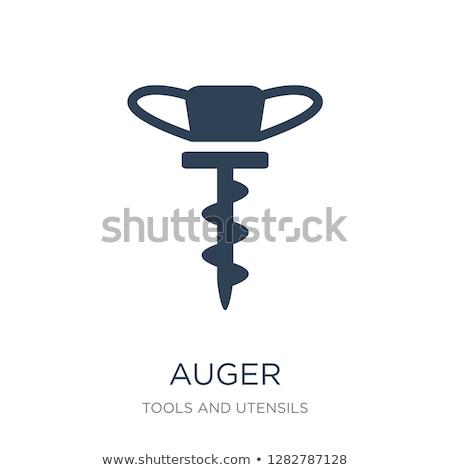 икона · кнопки · дизайна · древесины · фон - Сток-фото © angelp