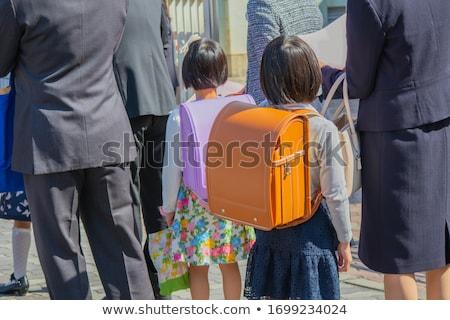Cute семьи вход церемония иллюстрация новых Сток-фото © Blue_daemon