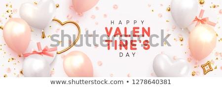 Валентин · сердцах · розовый · день · прибыль · на · акцию · вектора - Сток-фото © limbi007