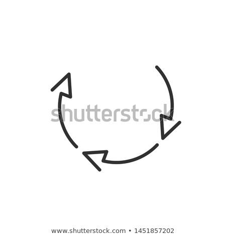 Três círculo simples diagrama Foto stock © kyryloff