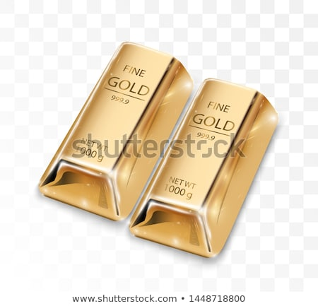 savings and invest brilliant and ingot vector stock photo © robuart