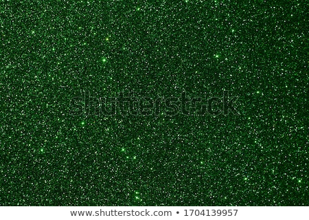 Stock photo: Emerald holiday sparkling glitter abstract background, luxury sh