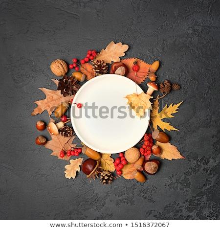 mesa · amarillo · decoración · frescos · flores - foto stock © furmanphoto