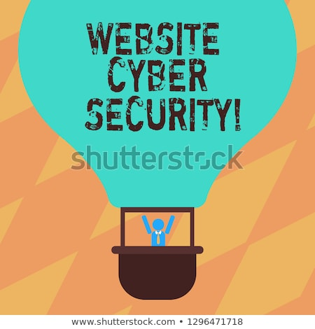 Gewapend hacker veiligheid wolk anoniem gegevens Stockfoto © ra2studio