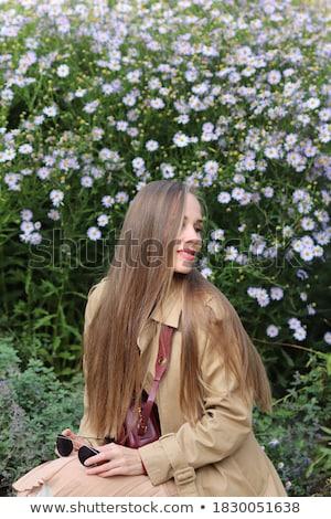 Twarz młodych blond spokojny kobieta naturalnych Zdjęcia stock © pressmaster