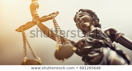 Lady Justice Sculpture Stock photo © manfredxy