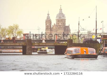 старые исторический зданий мнение воды Сток-фото © artjazz