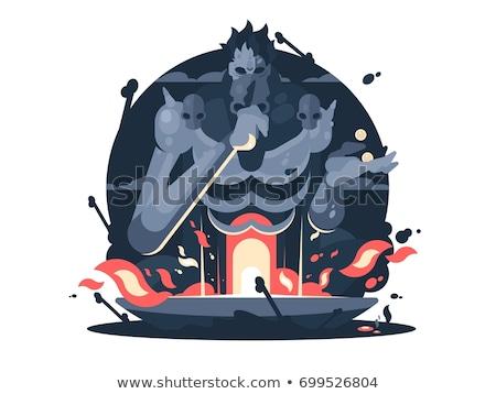 Karakter Isten halál ősi görög mitológia Stock fotó © jossdiim