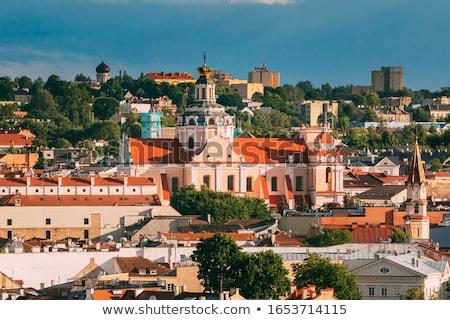 教会 ヴィルニアス ローマ カトリック教徒 旧市街 リトアニア ストックフォト © borisb17