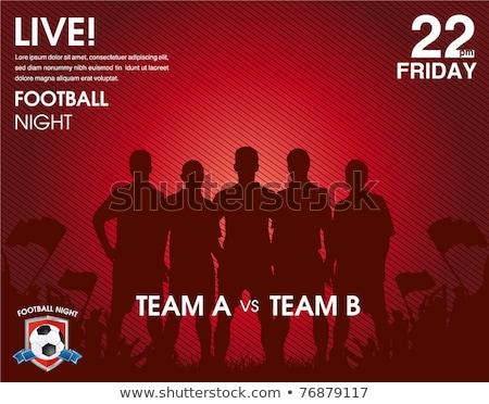 Soccer team in playoff Stock photo © olira