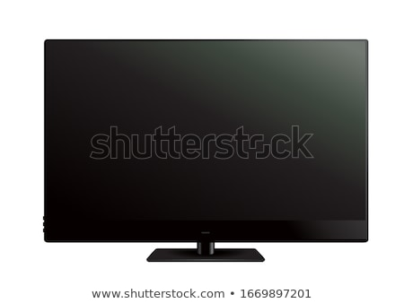 Isolated modern panel television Stock photo © Ansonstock