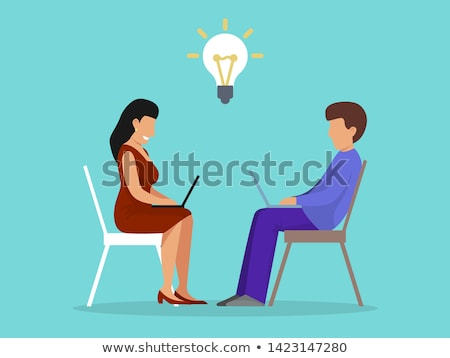 business peoplw stock photo © pkdinkar