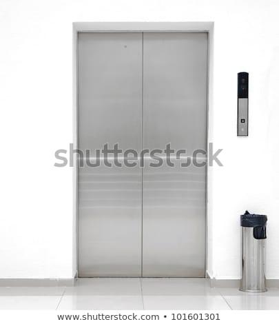 Lift deur lift business kantoor stedelijke Stockfoto © inxti